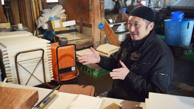 阿部拓也さん:内山紙の伝統工芸士として。新しいことに挑戦し、伝統の技をビジネスとして残す
