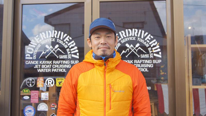 庚敏久さん:飯山はスキーだけじゃない。夏のカヌーやラフティングを提案する「パワードライブR117」代表