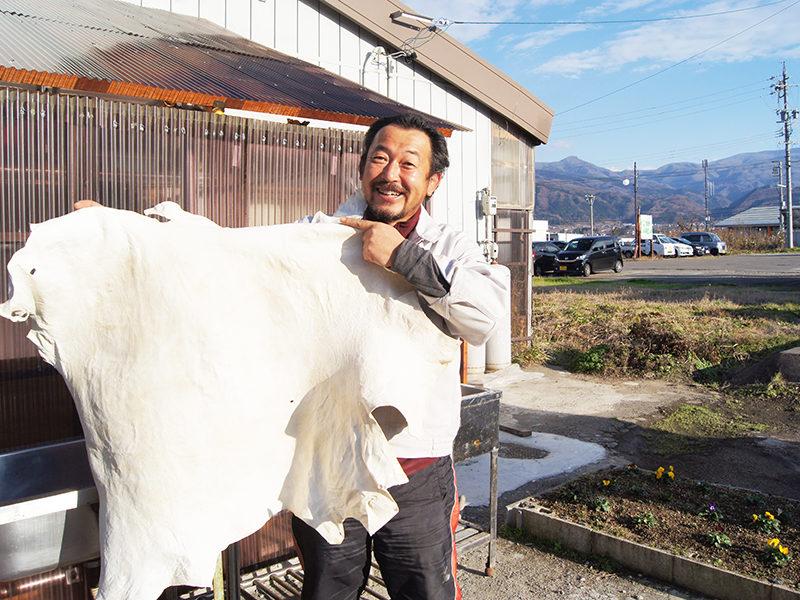 池田剛さん:廃棄されていた鹿革を生かして持続可能なスモールビジネスを目指す