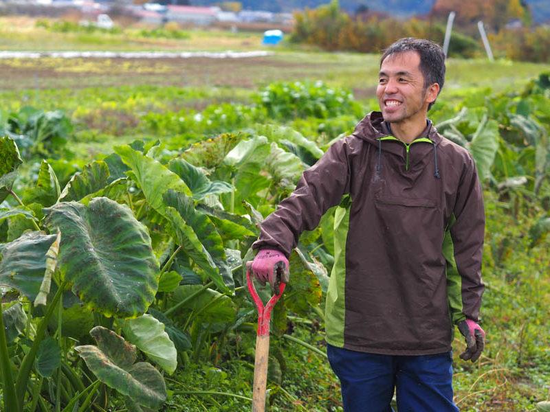 小林勇希さん:地域の伝統野菜「坂井芋」を100年後につなぐために。農業の楽しさを見せていきたい